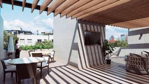 Loft Penthouse En Preventa En Rio Lerma Colonia Cuauhtemoc En El Corazón De Paseo De La Reforma