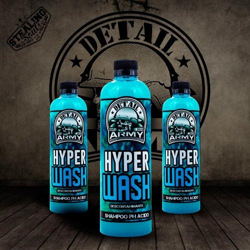 Detail Army® - 026 | Hyper Wash | Shampoo Ph Acido | 550cc