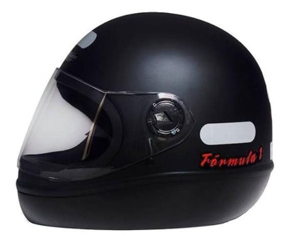 Capacete para moto integral San Marino Classic preto-fosco tamanho 60