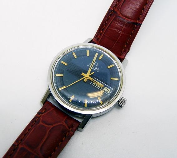 Reloj Omega Automático Con Caja De Acero Y Calibre 1022
