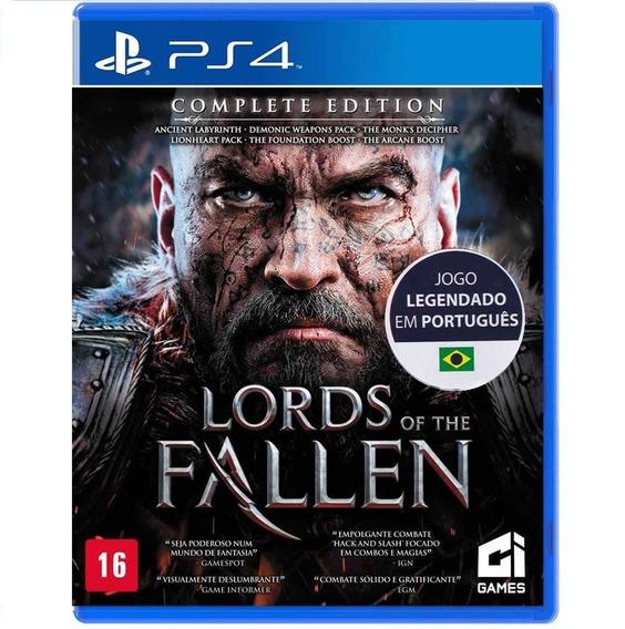 Jogo Lacrado Lords Of The Fallen Complete Editiion Para Ps4