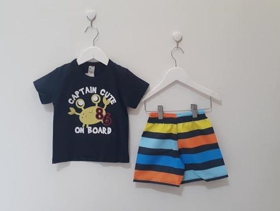 Conjunto Infantil Zim Kids Para Menino Tamanho 1