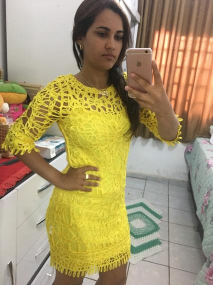 Vestido Amarelo Festa