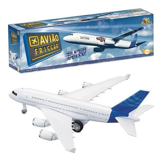 Brinquedo De Avião A Fricção Super Velocidade - Art Brink