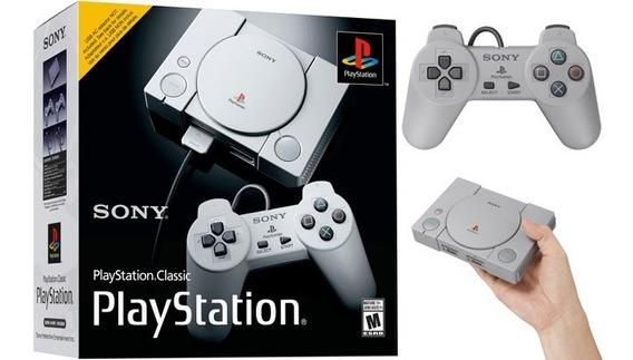 Playstation 1 Classic Edition Mini + 4.700 Jogos + Snes + Mega Drive