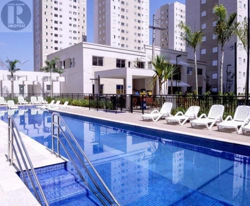 Imagem 1 de 21 de Ótimo Apartamento Inspire Barueri 02 Dormitórios 01 Vaga De - 0368