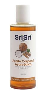 Aceite Para Masajes Ayurvedico Sri Sri Coco Sandalo Vegano