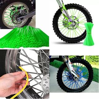 Set Cubre Rayos Motocicleta 72u Colores Oferta