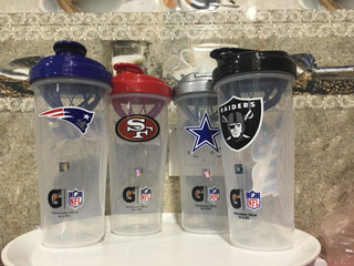 Nfl Shaker Vaso Patriotas Raiders Steelers Gatorade Football