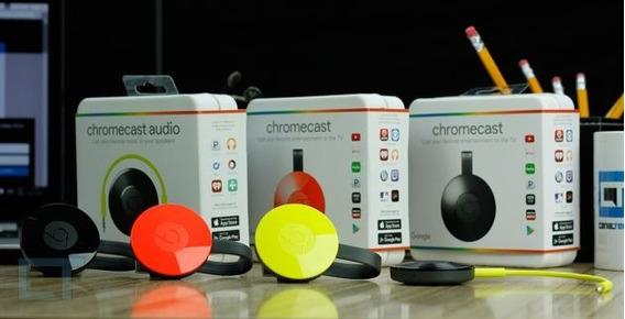 Google Chromecast 2 2016 Hdmi 1080p Novo Original