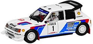 Coleccionable Classic Collection Scalextric Peugeot 205 T16