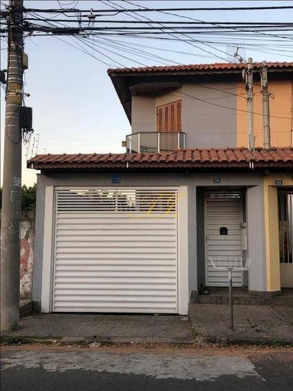 Sobrado Com 3 Dormitórios À Venda, 211 M² Por R$ 730.000,00 - Jardim Santa Clara - Guarulhos/sp - So0019