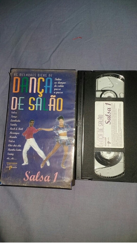 Vhs Dança De Salão Salsa Volume 1 Vídeo Aula