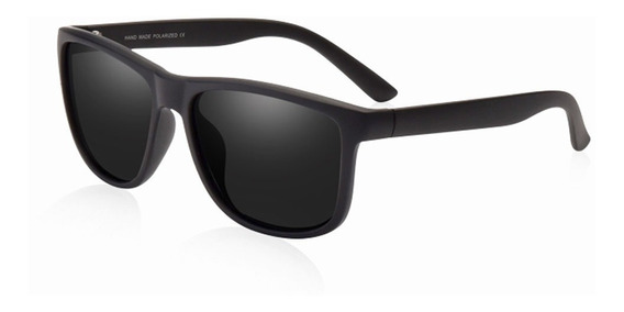 Óculos Sol Aofly Lentes Polarizadas Original Preto Uv