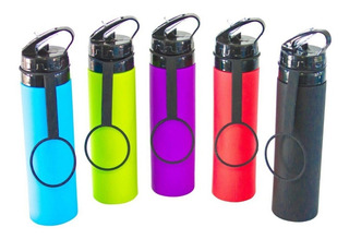 Botella Deportiva Plegable De Silicona Sport Bottle