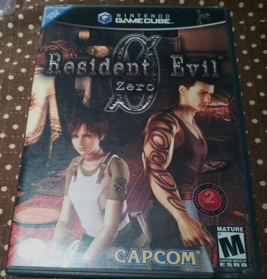 Resident Evil 0 Zero Nintendo Gamecube Americano Original
