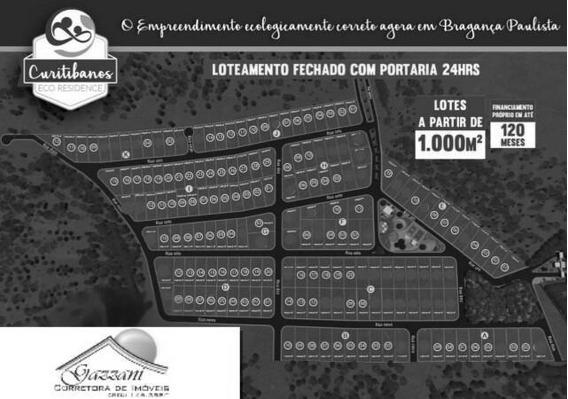 Lote Para Venda Em Bragança Paulista, Curitibanos - G0679