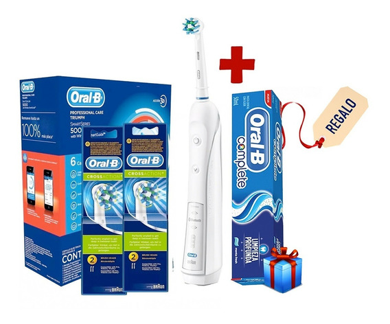 Cepillo Eléctrico Oral-b Professional Care 5000 +4 Repuestos