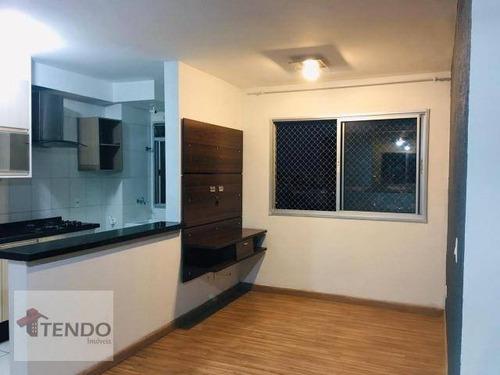 Imagem 1 de 17 de Imob01 - Apartamento Com 2 Dormitórios À Venda, 45 M² Por R$ 240.000 - Centro - Diadema/sp - Ap1639