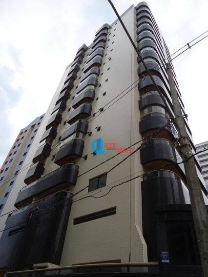 Apartamento Com 2 Dormitórios Amplo Com 1 Suite Lazer E Vista Da Praia - 1 Vaga De Garagem - Ap1065