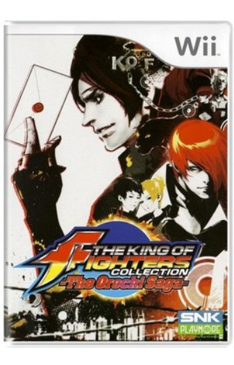 Jogo The King Of Fighters Collection - Wii Lacrado