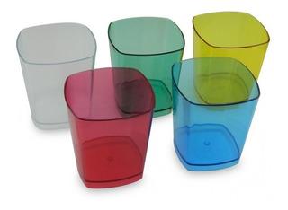 Vaso Whisky Plástico 10 Onzas Vaso Colores Surtidos