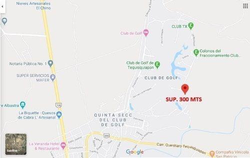 Terreno Chapulines, Club De Golf Sup. 300 Mts