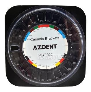 Brackets Ortodoncia Ceramico Azdent. Mtb 022 345 H