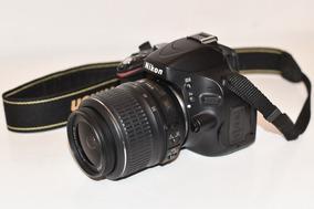 Câmera Nikon D5100 + Lente Nikon 18-55 + Lente Olho De Peixe