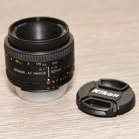 Lente Nikon Nikkor 50mm 1.8d (usada)