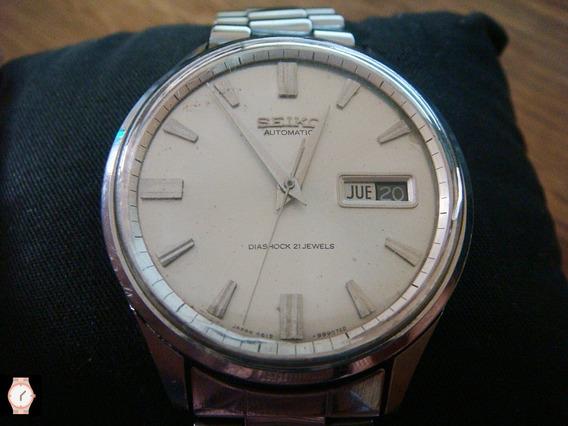 Reloj Seiko Sportsmatic Cal. 6619 Vintage 70s Dial Blanco