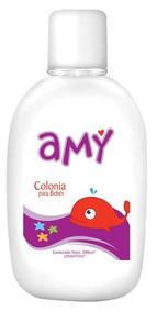 Colonia Para Bebés Amy Caja De 10 Unidades Con 200cc C/u.