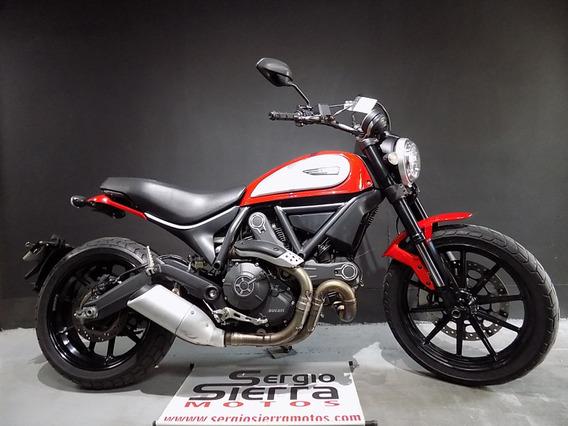 Ducati Scrambler Icon Roja 2016