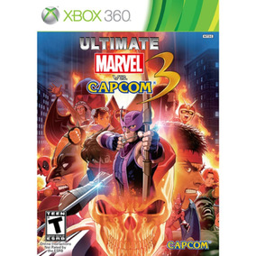 Ultimate Marvel Vs Capcom 3 Xbox 360 Original Mídia Física