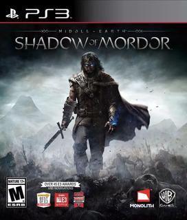 Shadow Of Mordor Ps3 La Tierra Media - Play Mexico