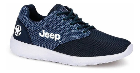 Tenis Casual Hombre Jeep Winer 351 Azul Marino 2667164