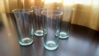Caja De 46 Vasos De Vidrio Liso Transparente(38)