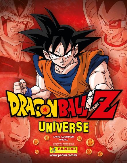 Álbum Capa Dura Dragon Ball Z Universe - Completo Fig.soltas