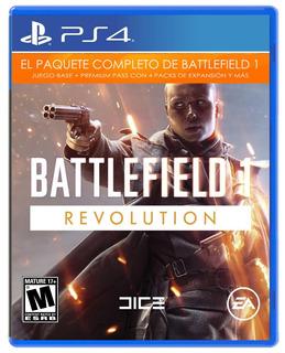 Battlefield 1 Revolution Ps4 Nuevo Y Sellado.