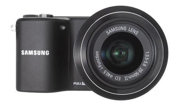 Câmera Samsung Nx2000 Pouco Tempo De Uso