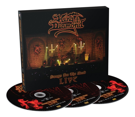 King Diamond - Songs For The Dead Live - 2dvd+cd