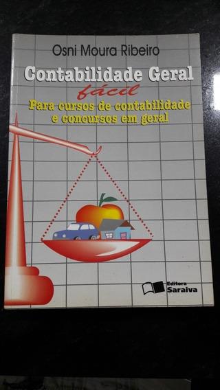 Livro Contabilidade Geral Fácil. Osni Moura Ribeiro