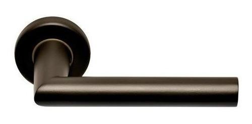 Imagen 1 de 4 de Casiopea Media Manija Aluminio Negro Mate