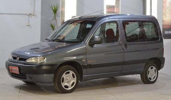 Peugeot Partner 2007 Diesel 1.9d Gris En Excelente Estado!!