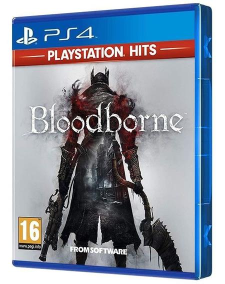 Bloodborne - Playstation Hits - Ps4 - Mídia Física