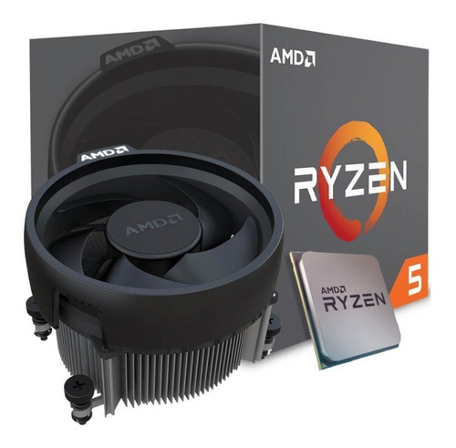 Micro Procesador Amd Ryzen 5 2600 3.9ghz Am4 Six Core