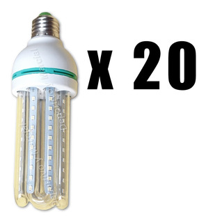 Kit 20 Lamparas Tubos Efficient Led 16w = 130 Watts Led Kit