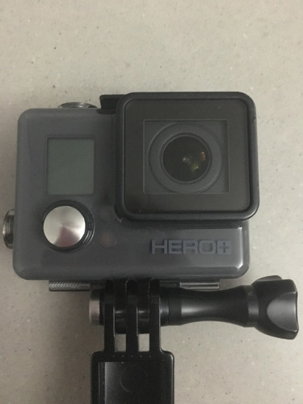 Camera Gopro Hero+ Lcd+tripê- Gopro3 E Nota Fiscal Original