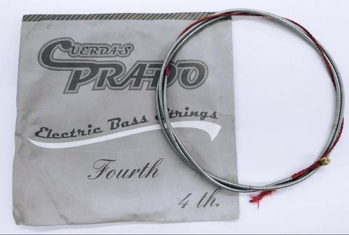 Imagen 1 de 1 de Cuerda 4a Para Bajo Eléctrico Entorch Niquel Prado