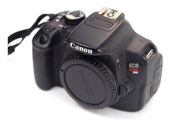 Canon Eos Rebel T4i 650d Só Corpo Com 2 Baterias Canon